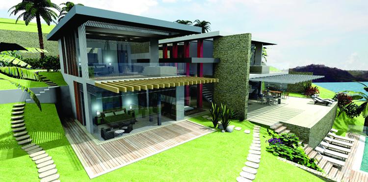 Villas at PortoMahoSide
